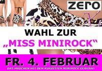 Wahl zur Miss Minirock