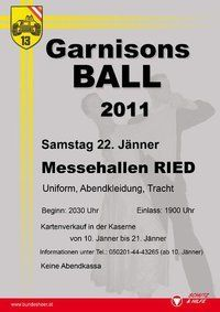 Garnisonsball 2011@Messezentrum