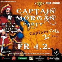 Captain Morgan@The Cube Disco