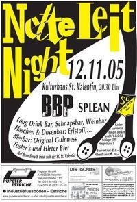 Nette Leit Night@Kulturhaus