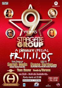 9 Jahre Stargate Group@Club Hochriegl