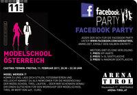 Facebook Party - Modelschool-Casting@Arena Tirol
