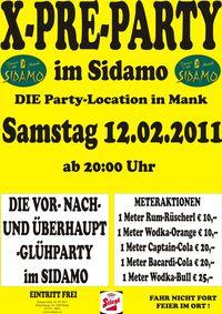 X-PRE-PARTY im SIDAMO@Cafe Sidamo Mank