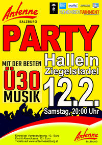 Die Antenne Salzburg Party@Ziegelstadel Hallein