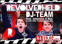 Revolverheld Dj Team live on Turntables@Disco P3