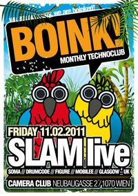 Boink! with Slam@Camera Club