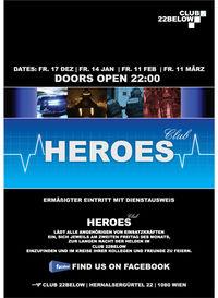 Heroes - Die lange Nacht der Helden@Club22below