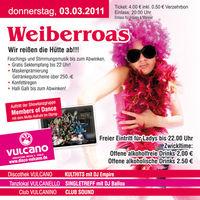 Weiberroas @ Vulcano@Vulcano