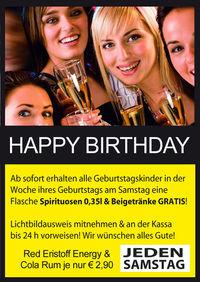 Birthday Saturday@Lava Lounge Linz