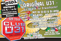 Club Ü31 Flower Power @Disco Bel