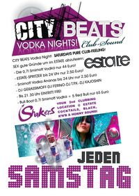 City Beats Vodka Nights@Club Estate