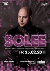 Technoelement pres. Solee aka Normen Flaskamp (Germany)@Auslage - club - bar - lounge