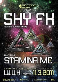 Secondsight - Shy FX feat. Stamina MC@WUK