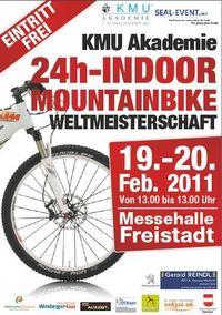 KMU-Academy 24h Indoor Mountainbike-Weltmeisterschaft 2011