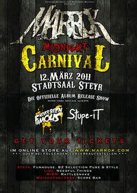 """MARROK CD-Release """"Midnight Carnival"""""""