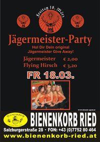 Jägermeister-Party