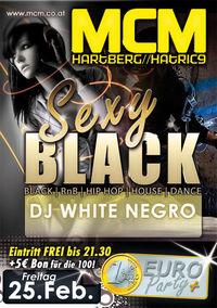 Sexy Black mit DJ White Negro