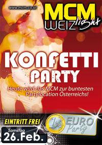 Konfetti-Party