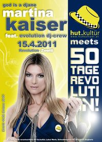Martina Kaiser - God is a Djane@Revolution Zwettl