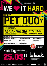 We love it Hard with Pet Duo@b.lack
