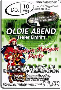 Oldie Abend & Captain Morgan Party@Brooklyn