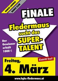 Fledermaus sucht das Supertalent - Das Finale
