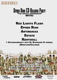 Ephen Rian CD Release Party@Bertholdsaal Weyer