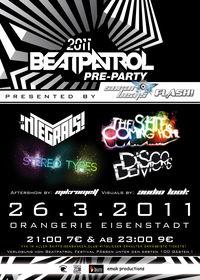 Beatpatrol Pre-Party@Orangerie Eisenstadt