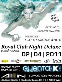 Royal Club Night Deluxe - White Edition@All iN