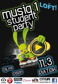 Musiq1 Student Party