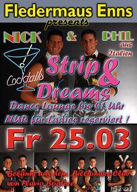 Cocktails, Strip & Dreams - Ladies Night mit Nick und Phil