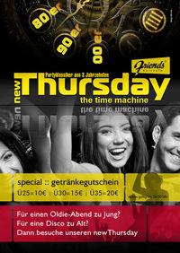 New Thursday@Friends Show-Cocktailbar