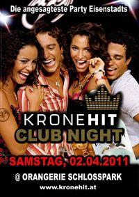 Kronehit Club Night@Orangerie Eisenstadt