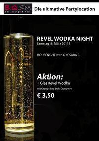 Revel Wodka Housenight