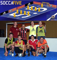 Szene1 Indoor Soccer - join it!@SoccaFive Halle