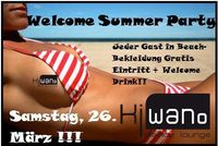 Welcome Summer Party@Kiwano Dance Lounge