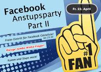 Facebook Anstupsparty Part II
