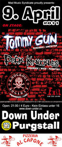 LIVE: Tommy Gun, Pork Knuckles, Knockout Society