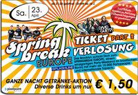 Spring Break Europe - Ticket Verlosung Part 2@Brooklyn