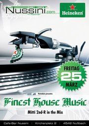 Finest House Music@Nussini Cafe Bar