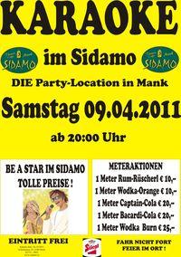 Karaoke im Sidamo@Cafe Sidamo Mank