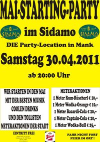 Mai-Starting-Party im Sidamo