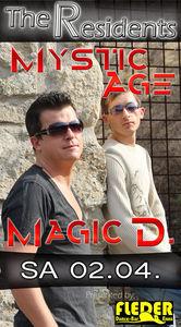 The Resident´s - DJ Mystic Age & Magic D.