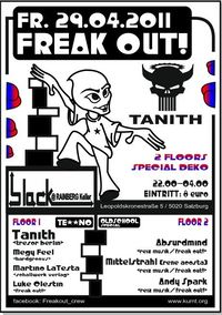 Freak Out! @ b.lack mit Dj Tanith