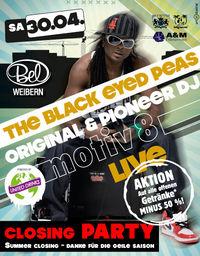 The Black Eyed Peas DJ - motiv 8 live@Disco Bel