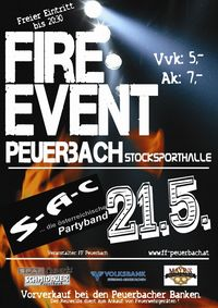 Fire-Event@Stocksporthalle Peuerbach