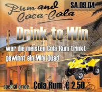 Drink to Win - Gewinne ein Mini-Quad !