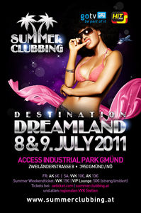 Summer Clubbing 2011 - Destination: Dreamland