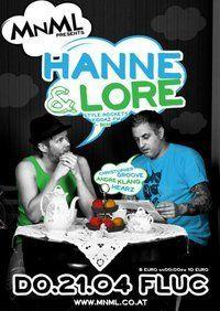 MNML special with: Hanne & Lore (kiddaz.fm,berlin)@Fluc / Fluc Wanne