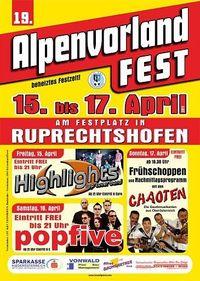 Alpenvorlandfest 2011@Festzelt Ruprechtshofen